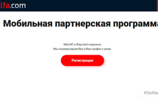 Mobalfa — хорошая партнёрка, монетизирующая web mt и wap-click подписки