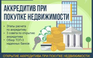 Что такое аккредитив (при покупке недвижимости и других сделках)