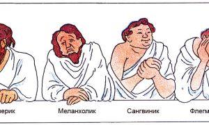 Сангвиник, холерик, флегматик и меланхолик — 4 основных типа темперамента или как понять что вы за человек (тест личности)