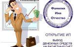 Открытие индивидуального предпринимателя для вывода денег из интернета (с webmoney, рся, адсенса), упрощенка и расчетный счет