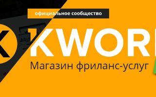 Kwork — как сделать отличный логотип для сайта за 2 дня и 500 рублей
