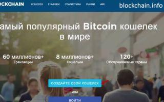 Blockchain.info — популярный криптовалютный онлайн-кошелек на русском языке на официальном сайте блокчейн.инфо