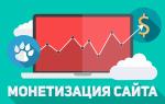 Монетизация и заработок для сайта
